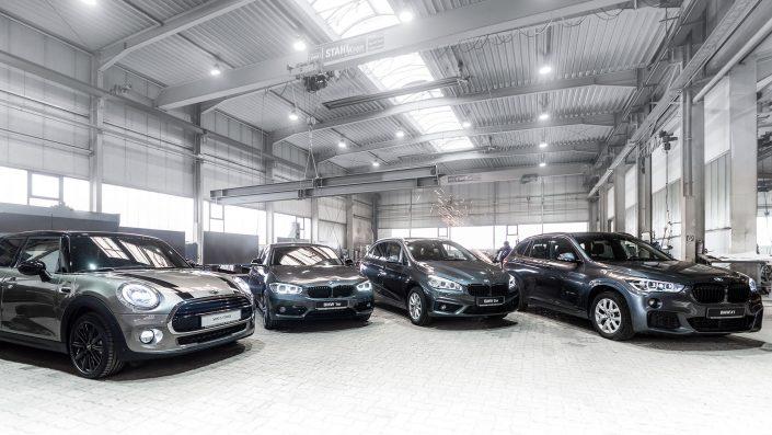 Werbefotografie von Michael Barg für Kunde BMW Autohaus Schaal