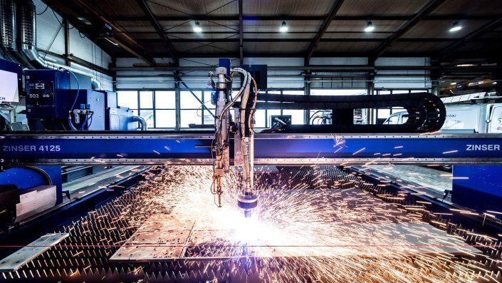Werbefotografie von Michael Barg für Kunde Seitz Stahlbau